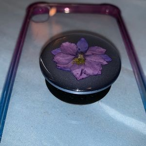 iPhone XS Case with Pop Socket